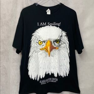 Gildan Bald Eagle Graphic T-shirt Raptor Center
